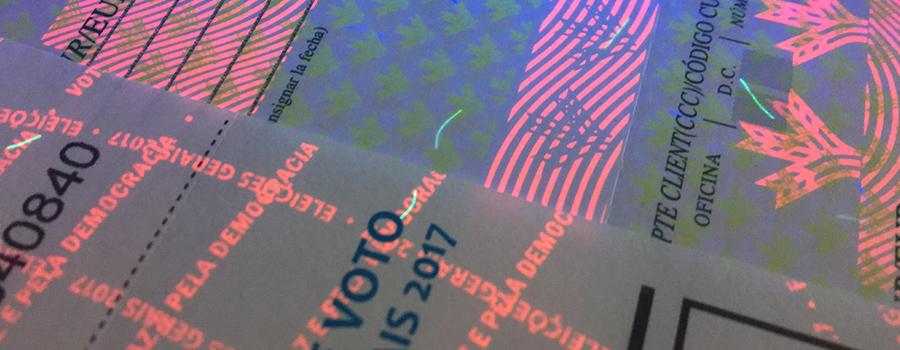 impresion documentos seguridad ultravioleta