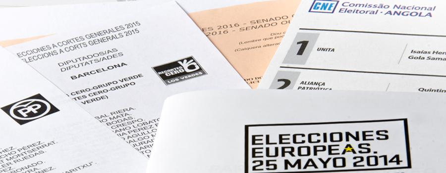 impresion procesos electorales